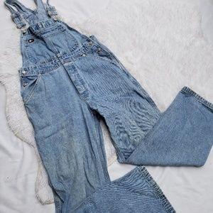 Vintage Tommy Hilfiger Denim Overalls Small Jeans